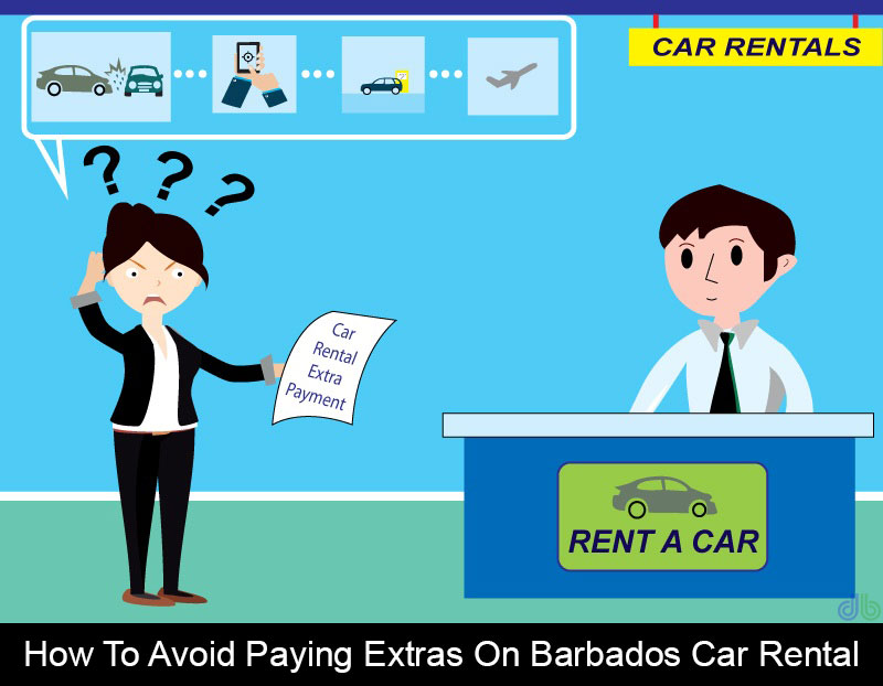 How to avoid paying extras on Barbados car rental
